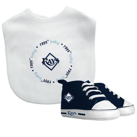 MLB Tampa Bay Rays Bib & Prewalker Baby Gift Set
