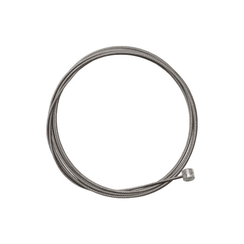 Shimano Mountain Inner Brake Cable Stainless Steel 1.6mm x 2050mm - OEM Bulk Pkg