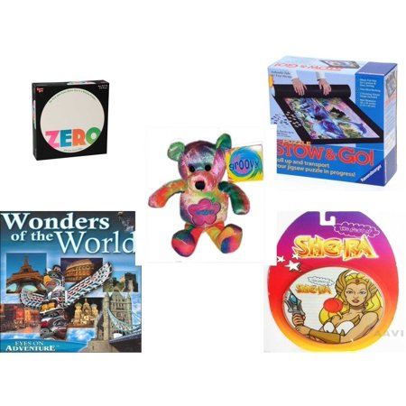 Children's Gift Bundle [5 Piece] -  Zero  - Stow and Go Storage System  - Groovy Beanie Bear  8