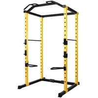 BalanceFrom 1000-Pound Capacity Multi-Function Adjustable Power Cage with, Dip Bars, J-Hooks and Other Optional Attachments