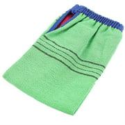 NOREF 1Pc Double Sided Body Exfoliating Glove Mitt Bath Shower Scrubbing Cloth Towel Bathing Tool, Exfoliating Mitt, Bath Glove