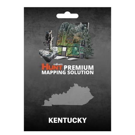 onXmaps HUNT Kentucky - GPS Map with Hunting/Land Owner Data for ...