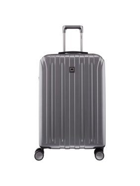 """DELSEY Paris Titanium 25"""" Expandable Checked Spinner Rolling Luggage Suitcase"""