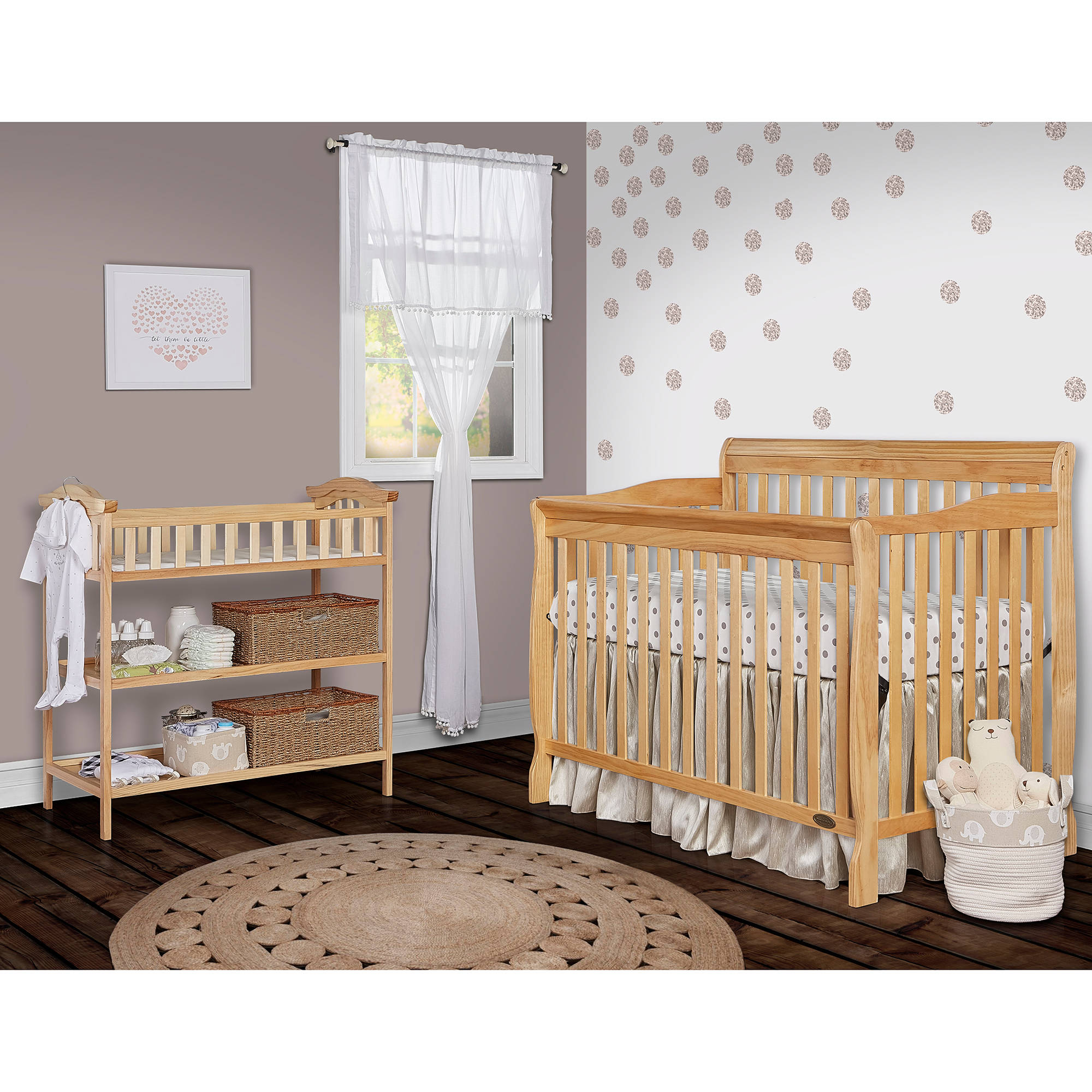 Crib thanksgiving sale - Dream On Me Ashton Convertible 5 In 1 Crib Mystic Grey
