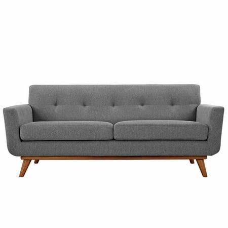 Oak Upholstered Loveseat - Modway Engage Upholstered Tufted Loveseat, Multiple Colors