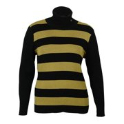 Lauren Ralph Lauren Women's Striped Turtleneck Sweater
