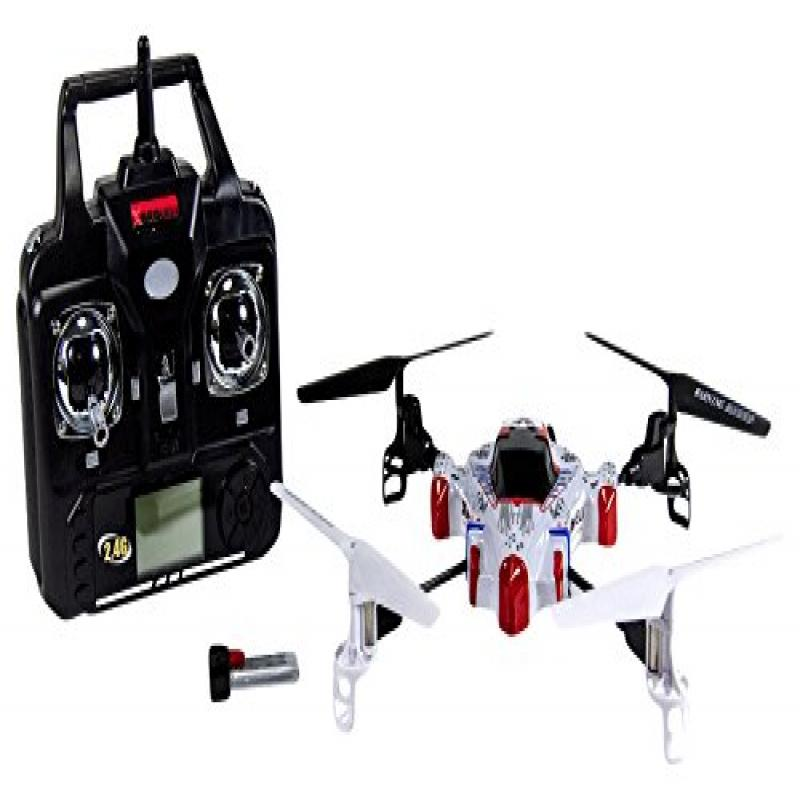 SYMA X1 4 Channel 2.4G RC Quad Copter, Spacecraft (As shown) by Syma
