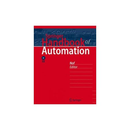 Springer Handbook of Automation [With DVD ROM]