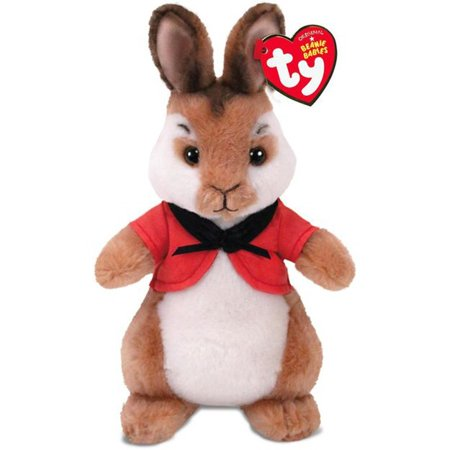 Collection Rabbit - Ty Beanie Babies Peter Rabbit Collection , Flopsy Rabbit Licensed Plush Stuffed Animal Easter Toy Plush 8