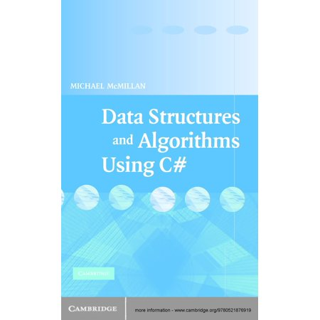 Data Structures and Algorithms Using C# - eBook