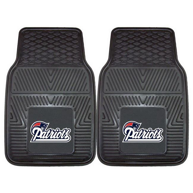 New England Patriots Car Mats Heavy Duty 2 Piece Vinyl