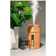 SHARKDOOK Mini usb aromatherapy air night light atomizing humidifier light wood grain - image 4 of 7