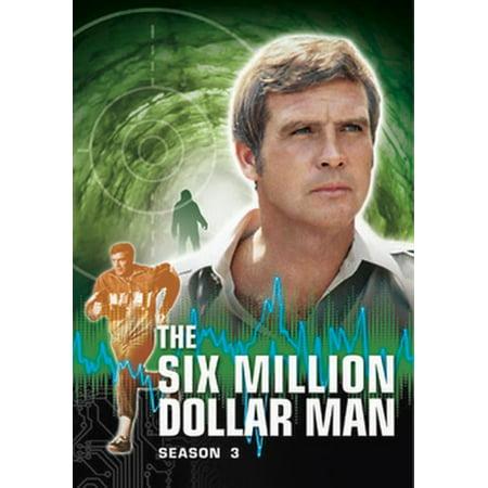 The Six Million Dollar Man: Season 3 (DVD) ()