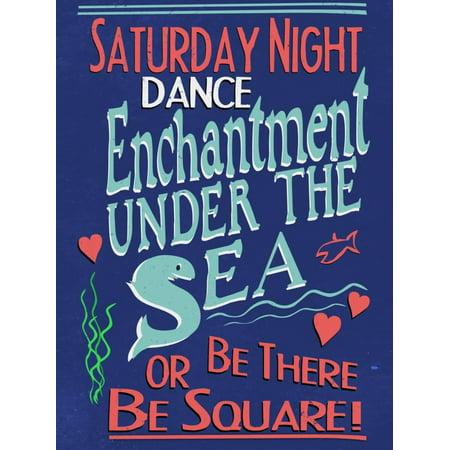 Enchantment Under The Sea Dance Print Wall Art