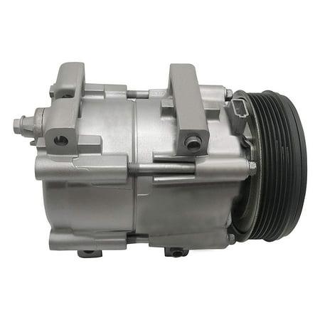 Ryc Remanufactured Ac Compressor And A C Clutch Eg144 Fits 2001 2002 2003 2004 Ford Escape 2 0l 1995 2000 Contour