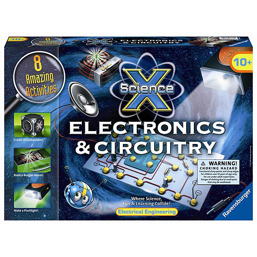 Ravensburger Science X Kit, Electronics & Circuitry by Ravensburger