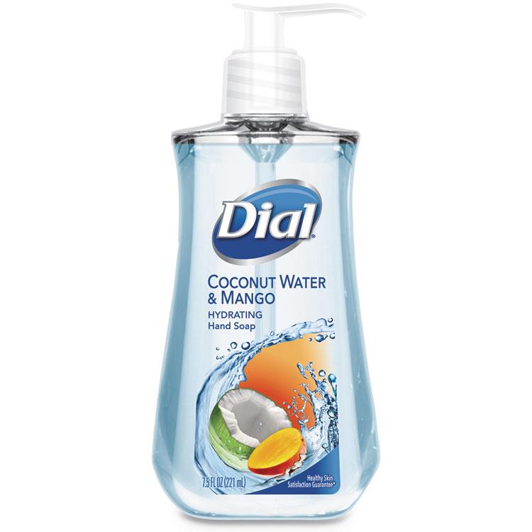 LIQUID HAND SOAP, 7 1/2 OZ PUMP BOTTLE, COCONUT WATER AND MANGO,12/CARTON