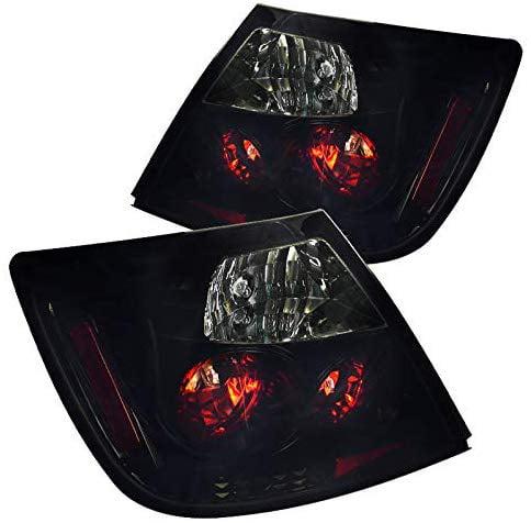 Black 2004-2010 Scion tC Rear LED Tail Lights Brake Lamps Left+Right