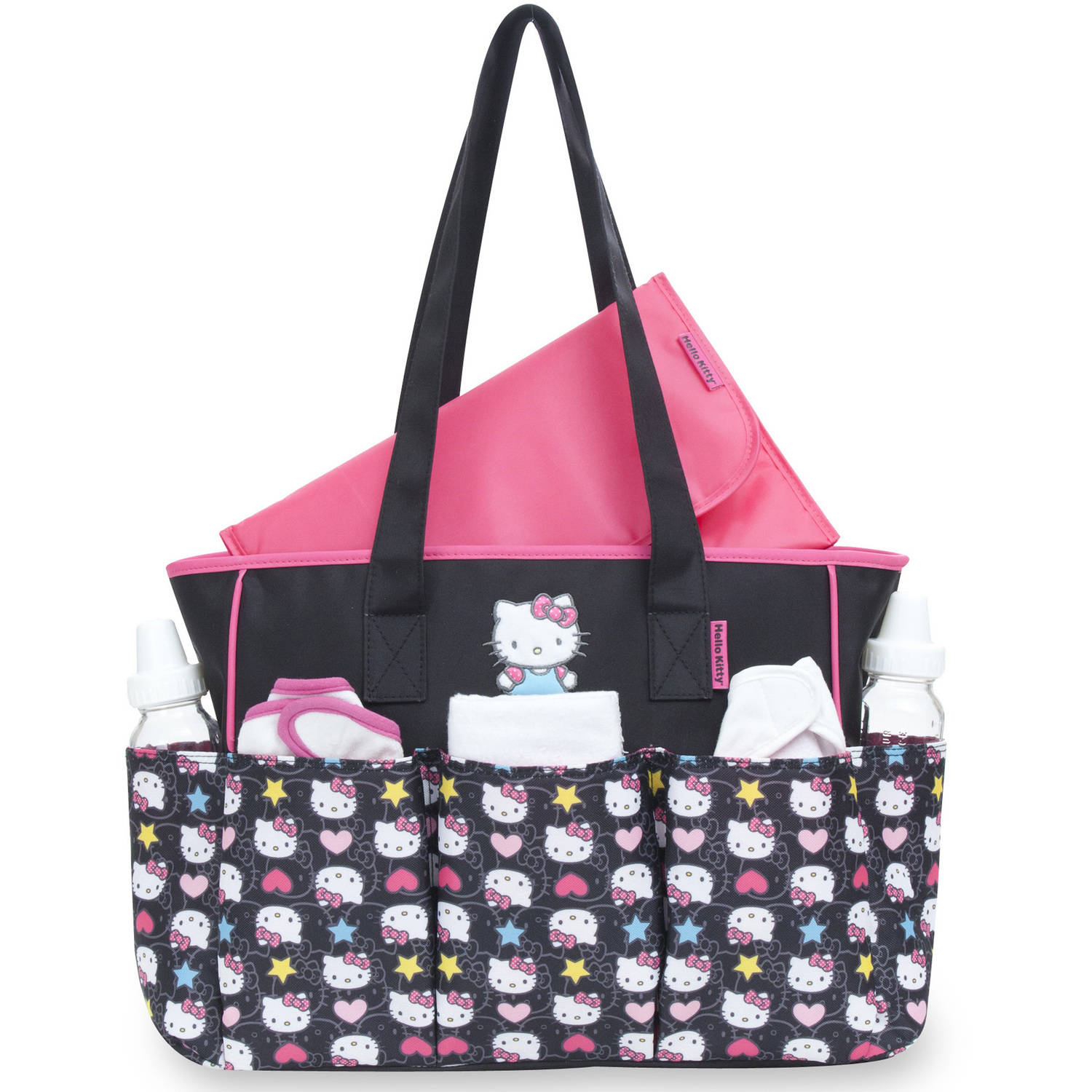 38021cf141e Hello Kitty Tote Diaper Bag - Walmart.com