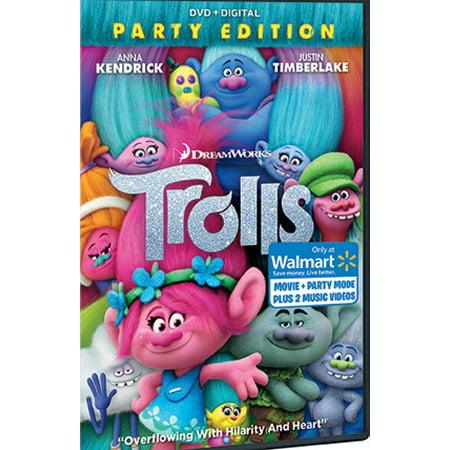 Trolls  Walmart Exclusive   Dvd   Digital
