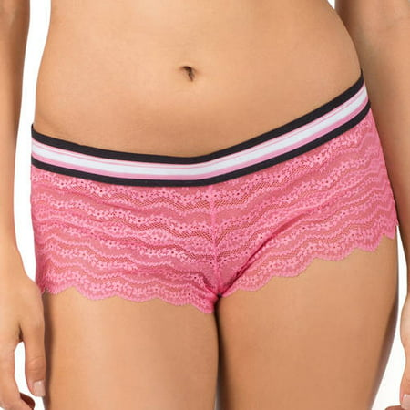 b0c00f28a2fd No Boundaries - Juniors Banded Cheeky Short Panty - Walmart.com