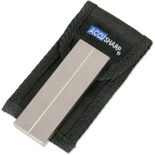 "AccuSharp 3"" Diamond Pocket Stone with Pouch"
