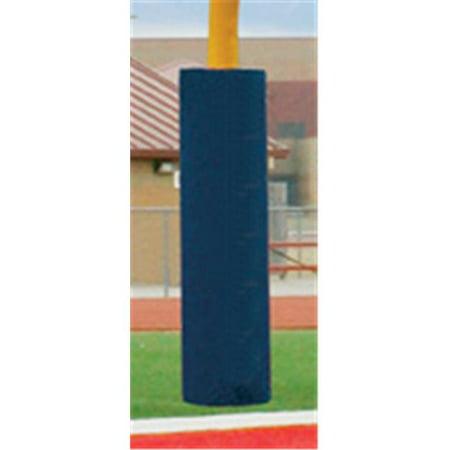 Football Post - First Team FT6050 Foam-Vinyl Post Pad for 5.56 in. Football Goalpost, Columbia Blue