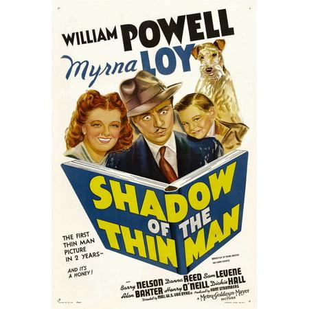 Shadow Of The Thin Man Myrna Loy William Powell Dickie Hall Asta 1941 Movie Poster Masterprint