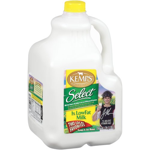 Kemps Select 1% Low Fat Milk, 1 gal