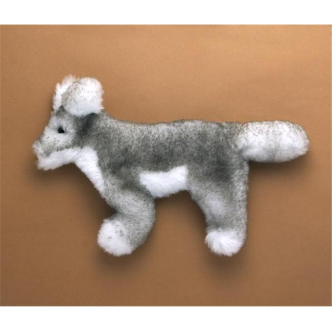 Flat Friends G104 Grey Wolf Flat Friends Soft Toy