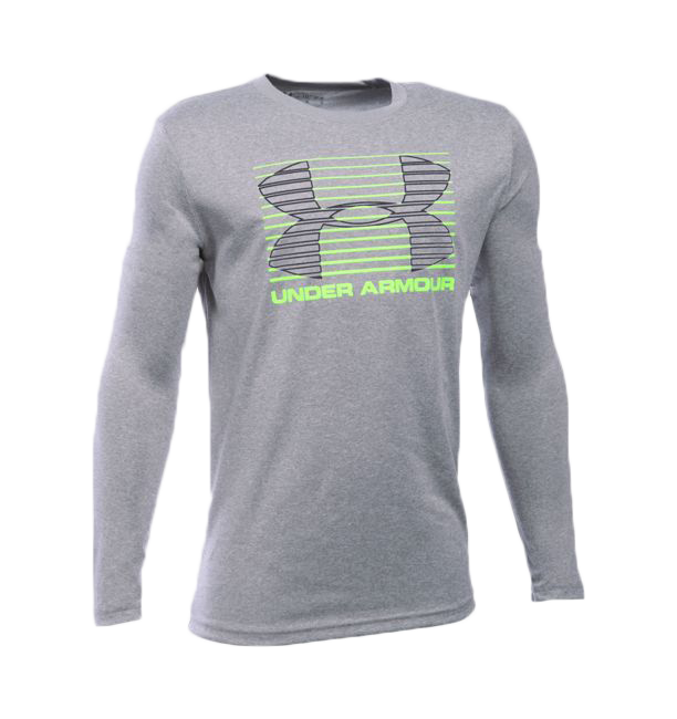 Under Armour Boy's Breakthrough Logo Long Sleeve