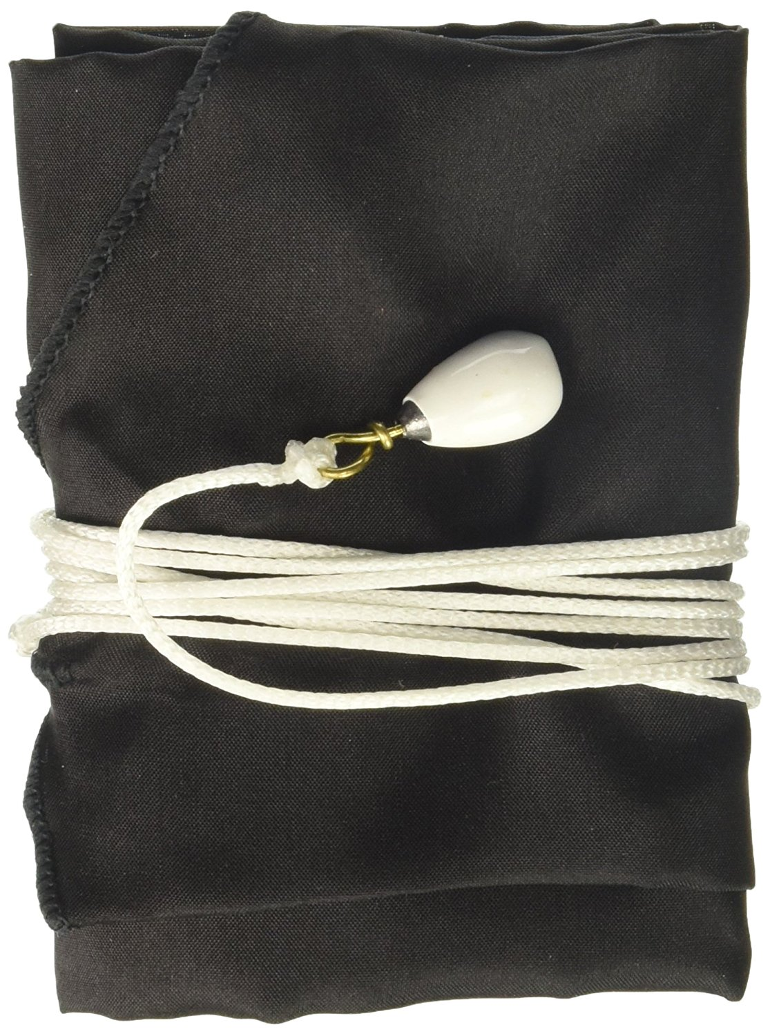 Silk Tenor Saxophone Swab Black, The silk saxophone swabs are designed to go all the way... by