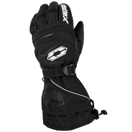 Castle X Racewear Rival Mens Snowmobile Gloves Black