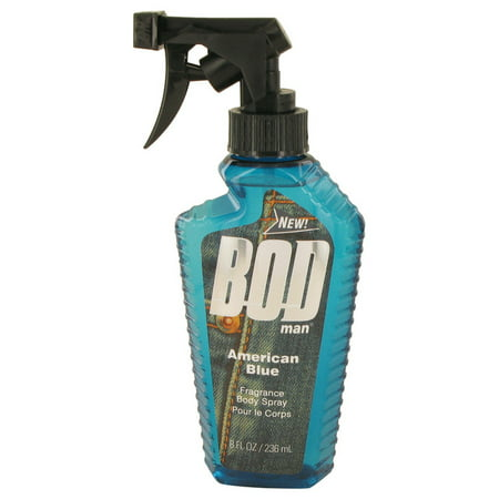 Parfums De Coeur Bod Man American Blue Body Spray for Men 8