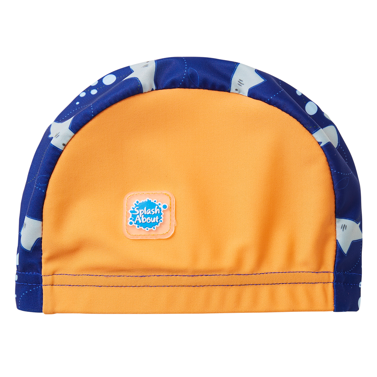 Splash About Baby Swim Hat Shark Orange 0-18 Months