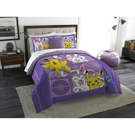 Pokemon Lavender Chu Twin Bedding Comforter Set Ebay