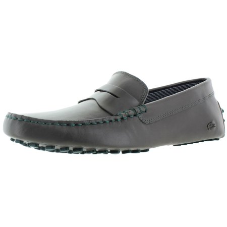 bf9ccdc6874375 Lacoste - Lacoste Concours 19 Men s Penny Loafer Driving Moccasin Shoes  Leather - Walmart.com