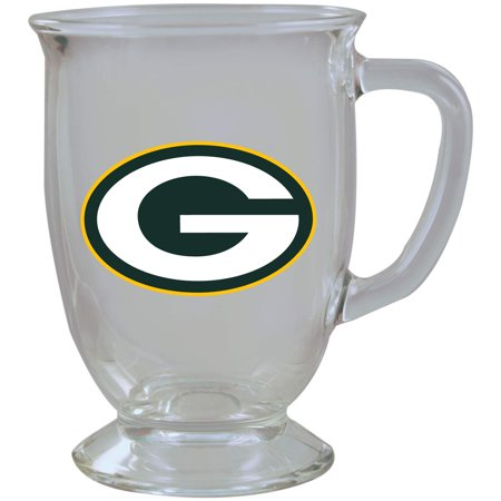 Green Bay Packers 16oz. Kona Glass Mug - No Size](Glass Monkey Green Bay)