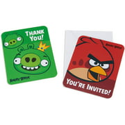 Angry Birds Party Invite and Thank-You Combo Pack, 8ct