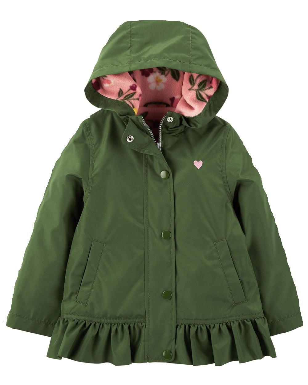Carter's  Baby Girls' Heart Fleece-Lined Jacket