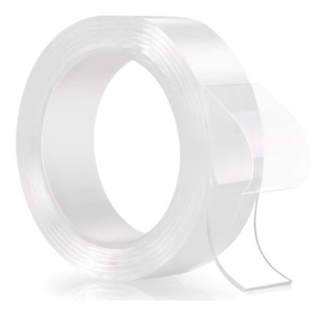 Reusable Magic Nano Tape Double Sided Traceless Adhesive Clear Tape