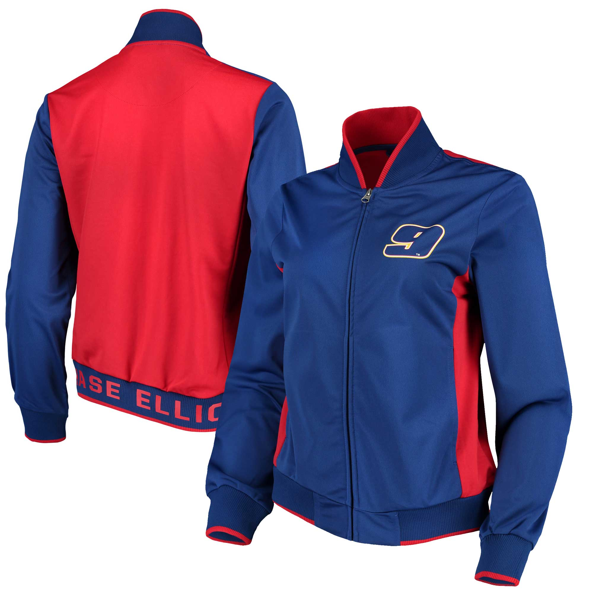 Chase Elliott G-III 4Her by Carl Banks Women's Triple Track Jacket - Royal