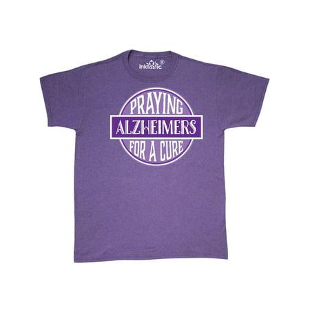 Alzheimers Awareness Walk Praying For Cure (Alzheimer's Awareness Shirts)