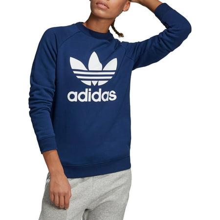 adidas Originals Women's Trefoil Crew Sweatshirt ()