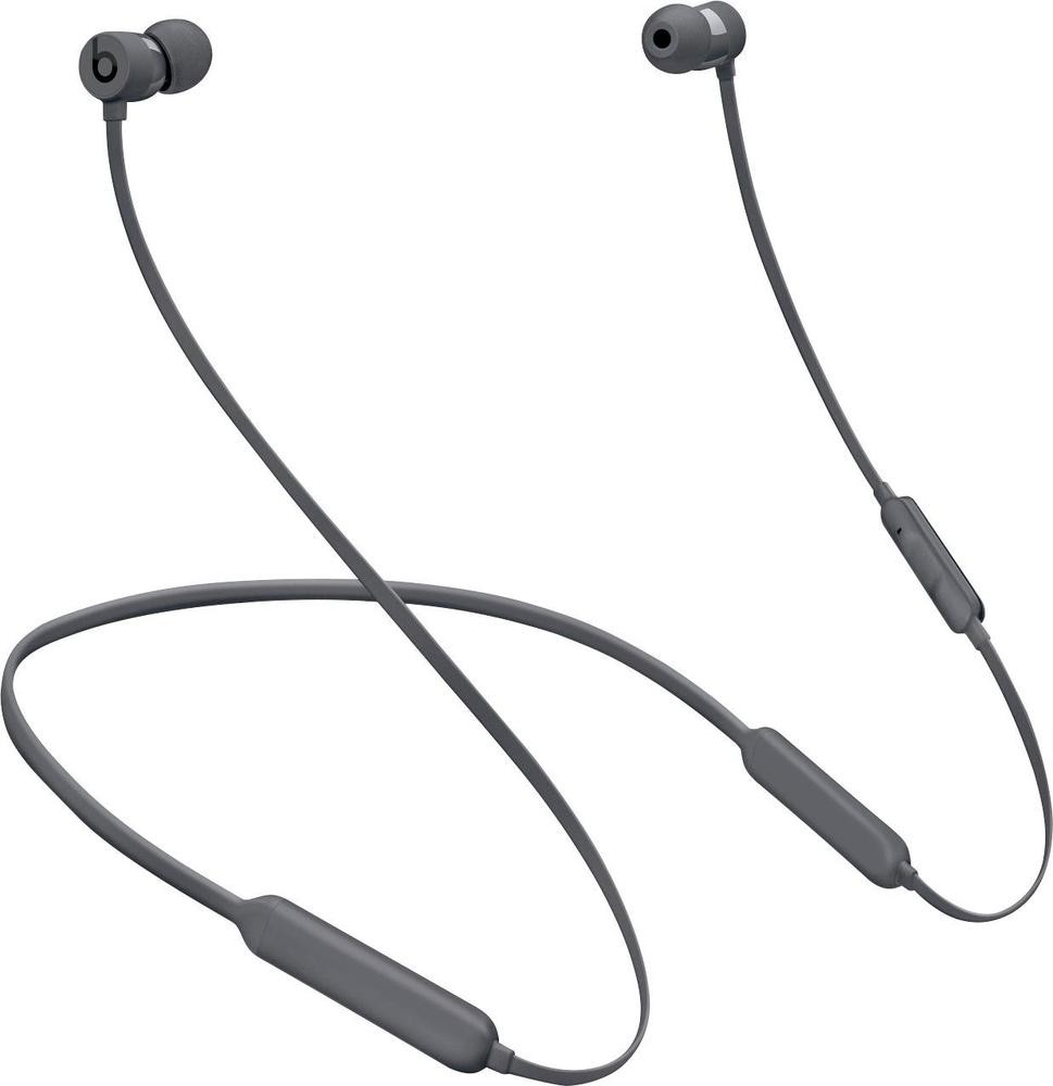 Refurbished Apple Beats BeatsX Gray In Ear Headphones MNLV2LL/A