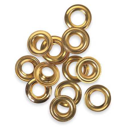 Westward 3AB84 Solid Brass Grommet Kit Refill