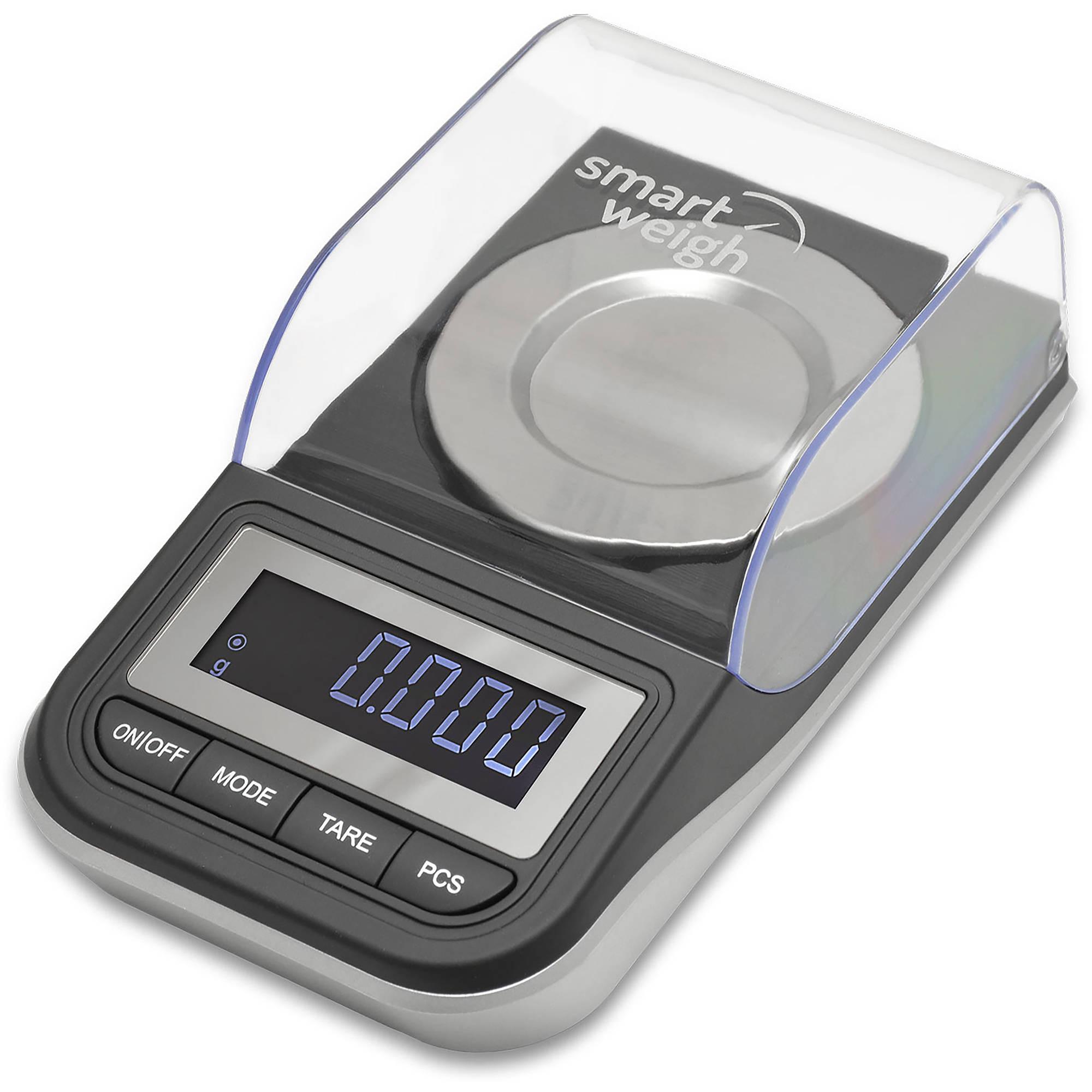 Smart Weigh High-Precision Milligram Digital Scale, 50 x 0.01g, Black, SW-GEM50
