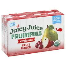Juice Boxes: Juicy Juice Fruitifuls Organics