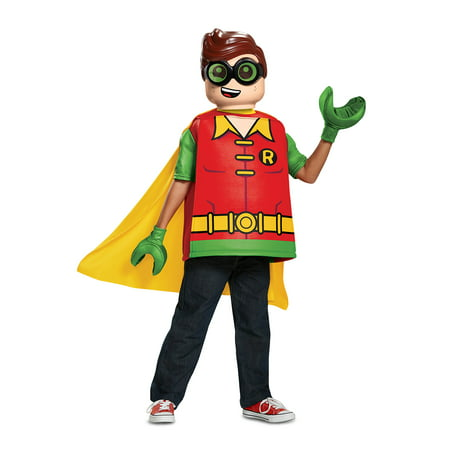 Lego Batman Robin Classic Child Halloween Costume - Batman And Robin Halloween Costumes For Adults