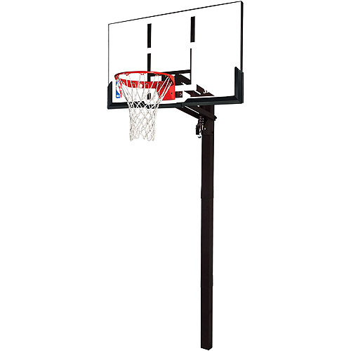 Spalding Acrylic In-Ground Basketball System, 54